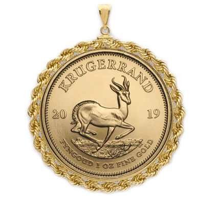 sell gold coin pendant los angeles