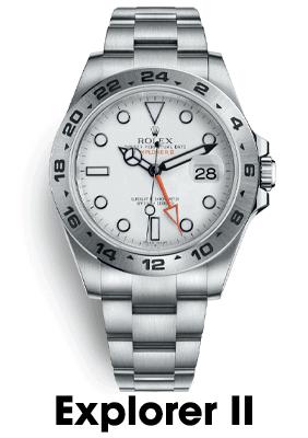 Sell Rolex Explorer II